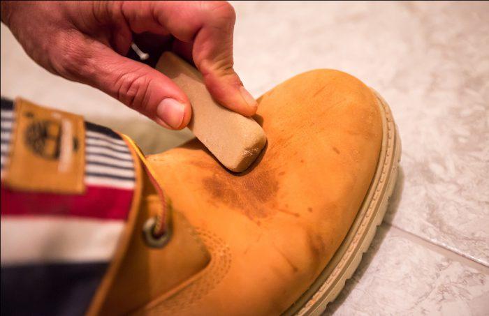 Профессиональная очистка обуви