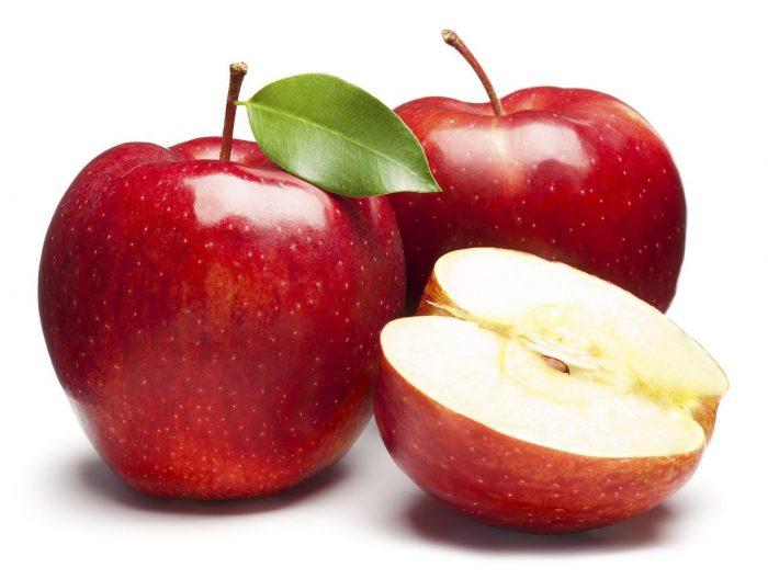 очищение яблоками