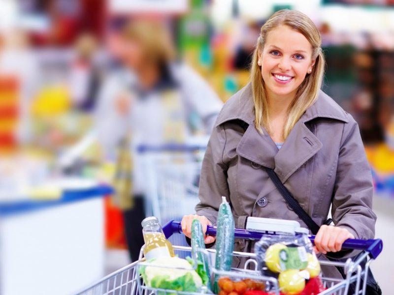 Скидки в магазинах - хороший повод сэкономить на еде