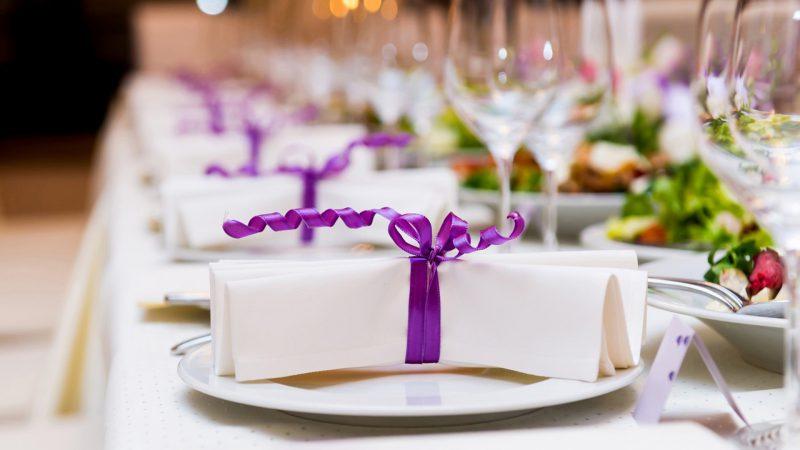Как экономить на свадебном банкете