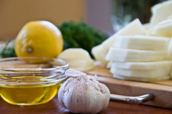 Лимон и чеснок против холестерина