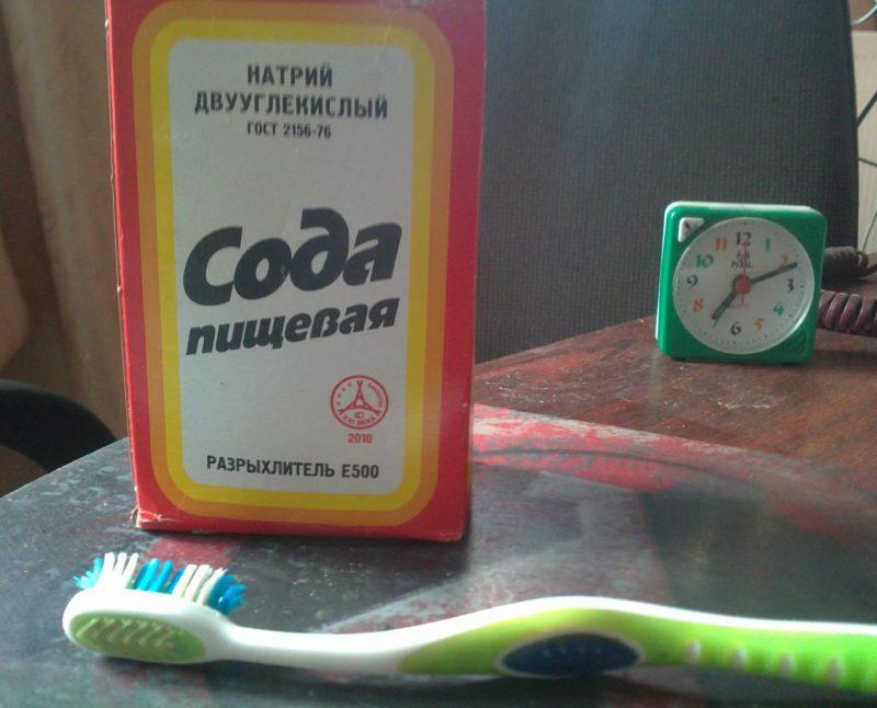 Пищевая сода для зубов