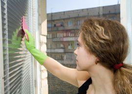 Как помыть горизонтальные жалюзи в домашних условиях