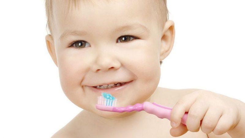 чистим зубки правильно