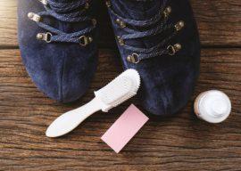 Как чистить ботинки из нубука дома?
