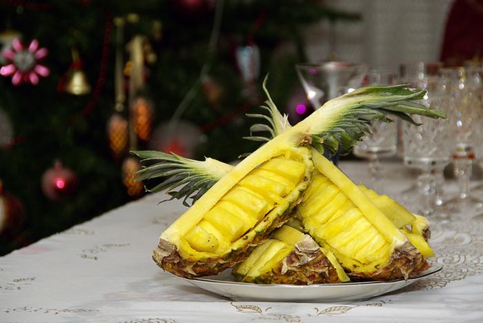 способы очистки ананаса