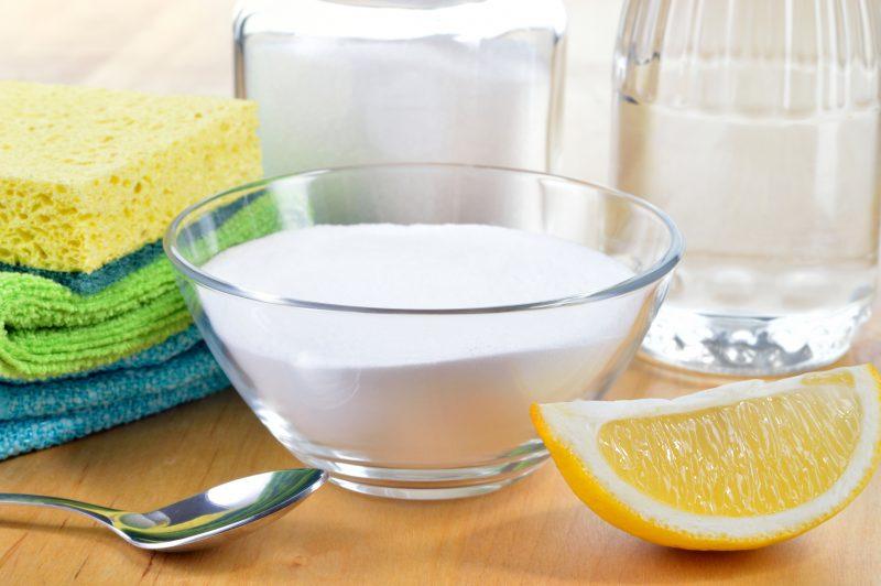 Лимон и уксус против запаха гари