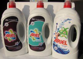 Жидкие средства для стирки: использование, преимущества и недостатки