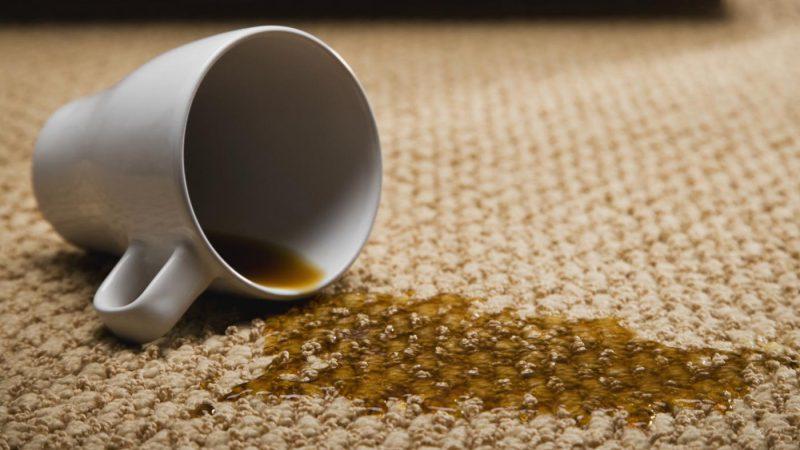 средства для удаления следов от жидкостей на ковролине