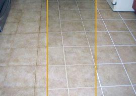 Как почистить швы между плиткой на полу и на стенах