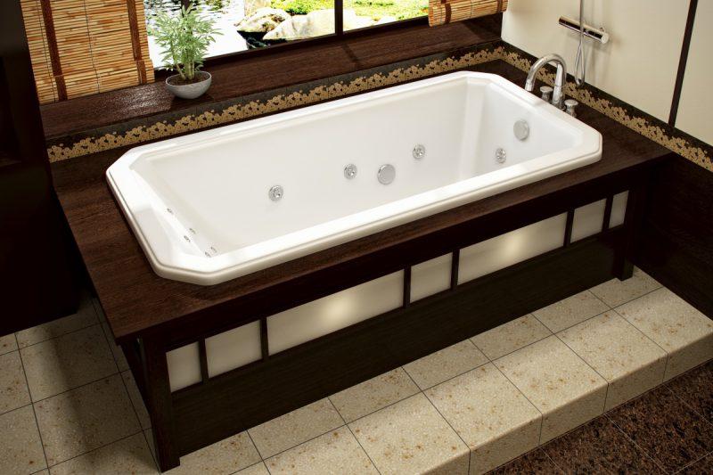 как отбелить акриловую ванну
