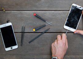 Особенности замены стекла на смартфонах