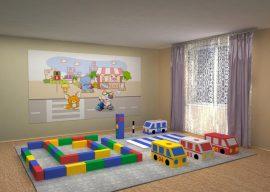 Мягкие модули для детского сада