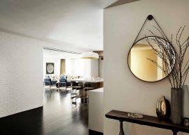 Круглые зеркала на стену